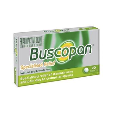 BUSCOPAN 10MG COATED TABLETS 20