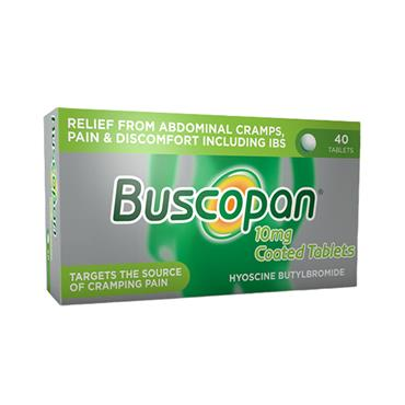 BUSCOPAN 10MG 40PK