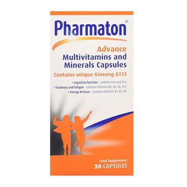 PHARMATON MULTIVITAMINS & MINERALS 30