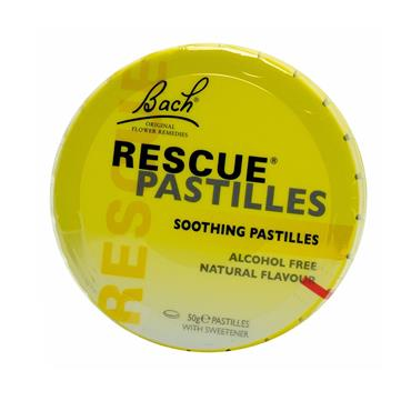 RESCUE PASTILLES SOOTHING PASTILLES 50G