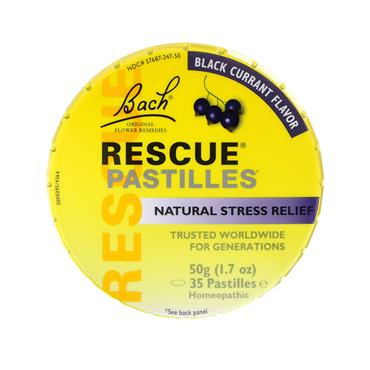RESCUE PASTILLES SOOTHING PASTILLES BLACKCURRANT