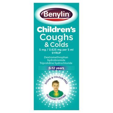CHILD COUGH COLD 125ML