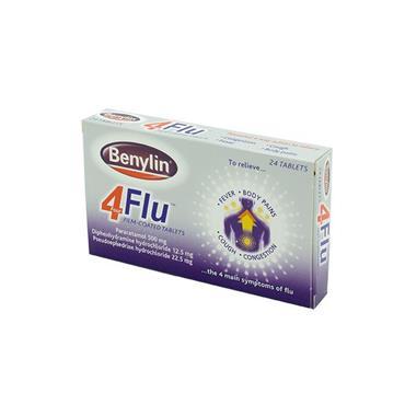 4 FLU TABLETS 24S