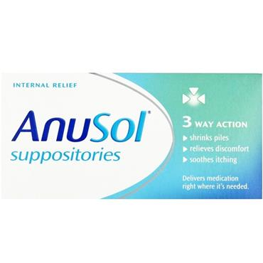 ANUSOL SUPPOSITORIES 24S