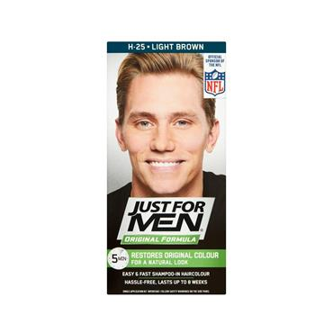 JUST FOR MEN LIGHT BROWN HAIR COLOUR
