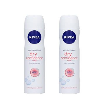 DRY CONFIDENCE ANTI-PERSPIRANT TWIN PACK
