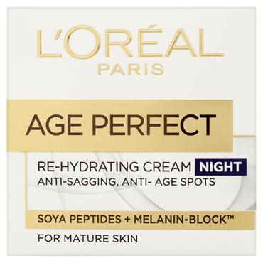 AGE PERFECT RE-HYDRATING NIGHT CREAM 50ML