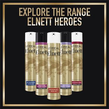 ELNETT COLOURED HAIR UV FILTER HOLD SHINE 400ML HAIRSPRAY