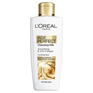 AGE PERFECT SMOOTHING & ANTI FATIGUE CLEANSING MILK