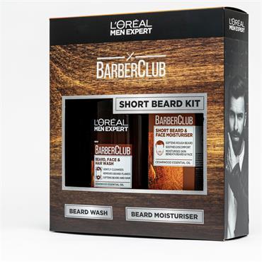 MEN EXPERT BARBERCLUB SHORT BEARD KIT