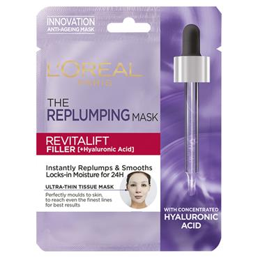 REVIATLIFT FILLER HYALURONIC ACID TISSUE MASK
