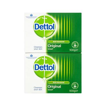 DETTOL SOAP BAR TWIN PACK
