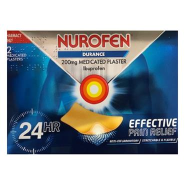 NUROFEN DURANCE 200MG MEDICATED PLASTER