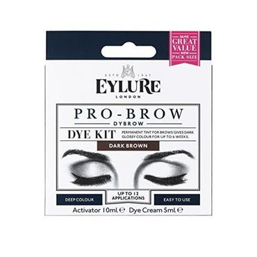 DYBROW PERMANENT TINT FOR BROWS - DARK BROWN