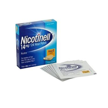 NICOTINELL 24HR PATCH 14MG STEP 2