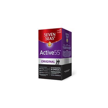 ACTIVE 55 GLUCOSAMINE & OMEGA-3 30'S