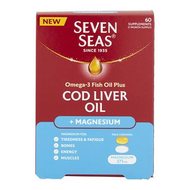 COD LIVER OIL + MAGNESIUM 1 A DAY