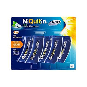 NIQUITIN MINI LOZENGES 4MG 5 X 20'S