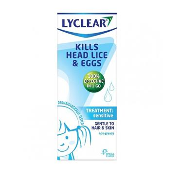 LYCLEAR SENSITIVE TREATMENT FOR HEAD LICE