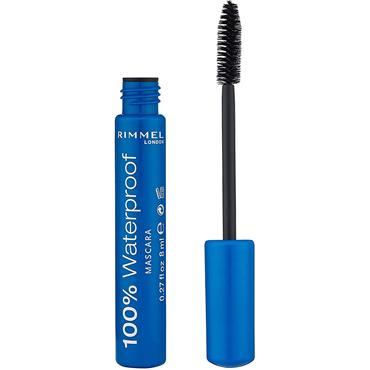 100% WATERPROOF MASCARA BROWN BLACK
