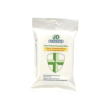 JD HAND & BODY CLEANSING WIPES