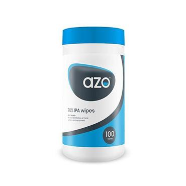 AZO 70% IPA WIPES - 200