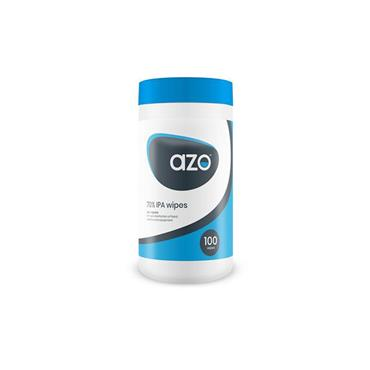 AZO 70% IPA WIPES - 100