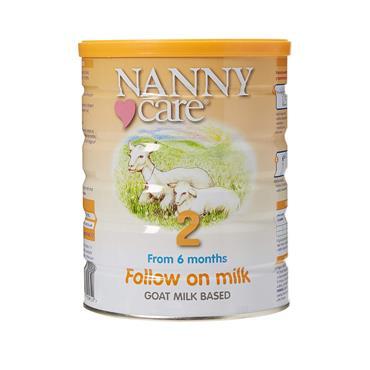 NANNY CARE FOLLOW ON MILK 6-12 MONTHS 900G
