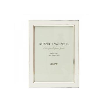 WHISPER CLASSIC WHITE FRAME 7X5