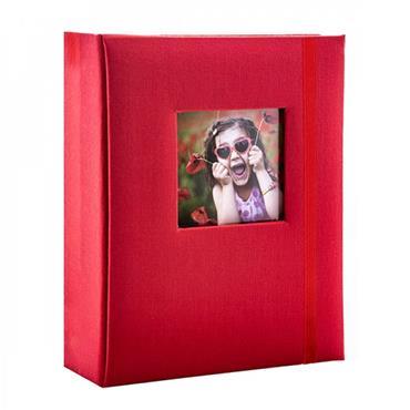 AZTEC RED MINI HARD COVER ALBUM 6X4