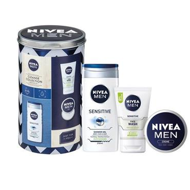 MEN CLEANSE COLLECTION FOR SENSITIVE SKIN