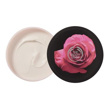 THE BODY SHOP ROSE GLOW BODY BUTTER