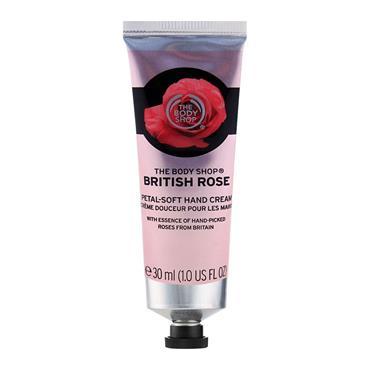 BRITISH ROSE HAND CREAM 30ML