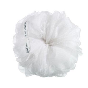 BS BATH LILY SHOWER SPONGE WHITE