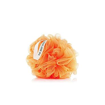 BATH LILY SHOWER SPONGE ORANGE