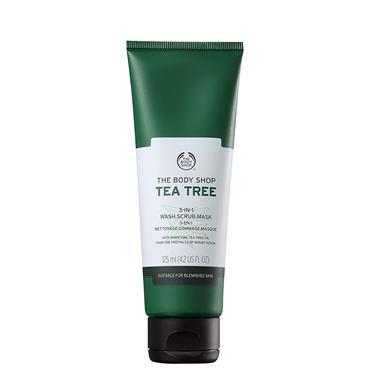 TEA TREE 3 IN 1 SCRUB