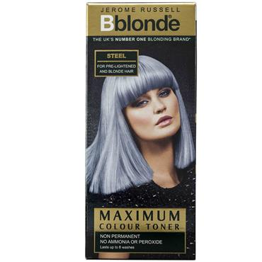 BBLONDE MAXIMUM COLOUR TONER STEEL