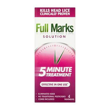 FULL MARKS SOLUTION 200ML KILLS HEAD LICE