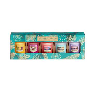 YANKEE CANDLE x5VOTIVE CANDLES