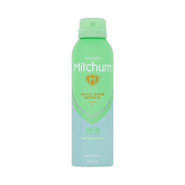 MITCHUM TRIPLE ODOR DEFENSE UNSCENTED AEROSOL