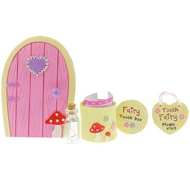 FAIRY TOOTH SET - PINK