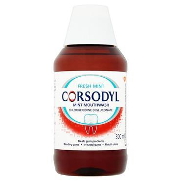 CORSODYL ALCOHOL FREE MOUTHWASH