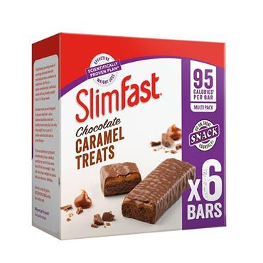 SLIMFAST CHOCOLATE CARAMEL TREATS X6