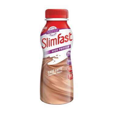 SLIMFAST CAFE LATTE FLAVOUR SHAKE 325ML