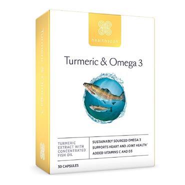 TUMERIC & OMEGA 3 30 CAPSULES