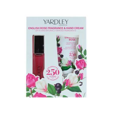 YARDLEY ENGLISH ROSE EDT AND HAND CREAM