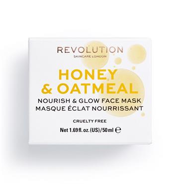 HONEY & OATMEAL NOURISH & GLOW FACE MASK