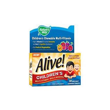 KIDS MULTIVITAMIN CHEW 30'S