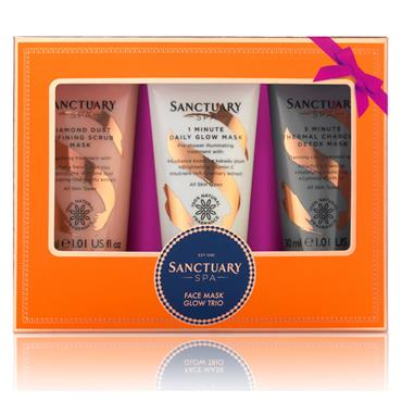 SANCTUARY SPA FACE MASK GLOW TRIO