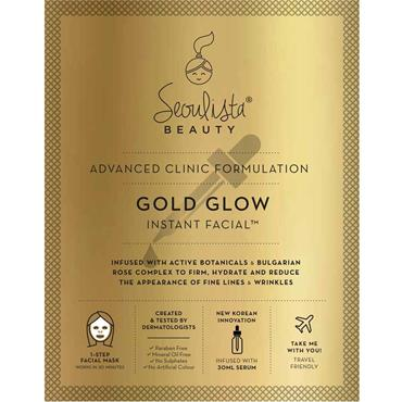 SEOULISTA GOLD GLOW MASK